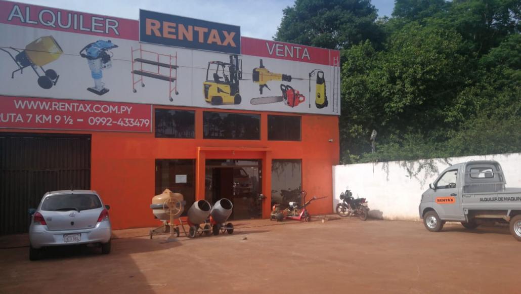 Rentax maquinarias Ciudad del Este
