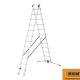 Rentax Escalera de aluminio